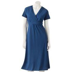 Croft & Barrow® Pintuck Empire Dress