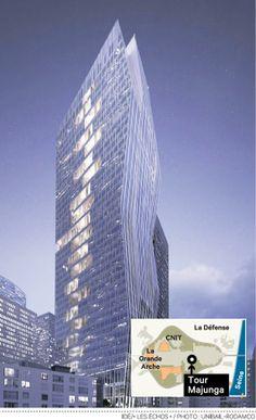 Unibail-Rodamco lance une nouvelle tour à La Défense #Trinity