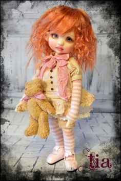 JpopDolls.net ™::Dolls::Tracy Promber::Tia by Tracy P (PREORDER)
