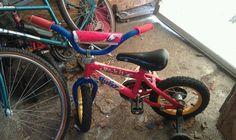 Toddler Bike w/ Training Wheels in My_Online_Yard_Sale_QC Sale in Rock Island , IL for $15.00. Boys Huffy Rock It Bike