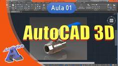Curso de AutoCAD 3D - Aula 01 - Apresentação do Curso - Autocriativo