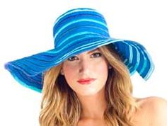 The Grace Resort hat keeps you sun protected and looking good:)