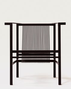 Ruud Jan Kokke, Slat Chair (1984) from the first series. Initially produced in very small quantities. Shot by @nachoalegre #NExOLDHAUS…