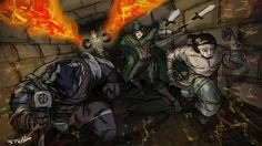 Legend of Grimrock | fanart by Stachir