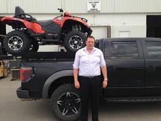 Ian with his new TRV! Congrats Ian! Enjoy the ride!