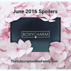 Boxycharm June 2016 Spoilers! Link on the bio!  TheSubscriptionBoxFamily.com #boxycharm #makeup #beauty #subscriptionbox #makeupaddiction #makeuplover #makeupjunkie #makeupaddict #spoiled #reviews #monthlybox #subscribe #loveit #summer #summertime #style #fashion #sopretty #beautybox #beautyful #beautycare #skincare #haircare #love #makeuptalk #spoilers #subscriptionboxes by thesubscriptionboxfamily