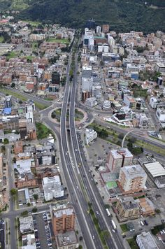 Colombia Calle 100. Bogotá