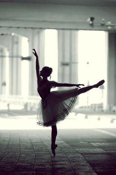 Ballerina in the shadows