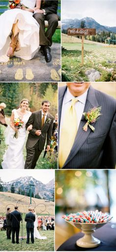 Sundance Wedding by Jonathan Canlas