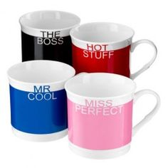 Our slogan mugs are the perfect Christmas present or stocking filler for someone special this Christmas!