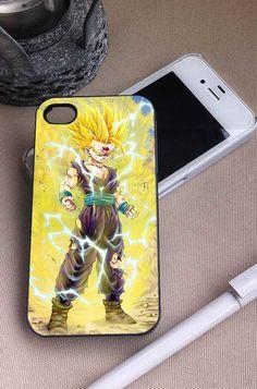 Gohan Super Saiyan   Dragon ball Z   iPhone 4 4S 5 5S 5C 6 6+ Case   Samsung Galaxy S3 S4 S5 Cover   HTC Cases