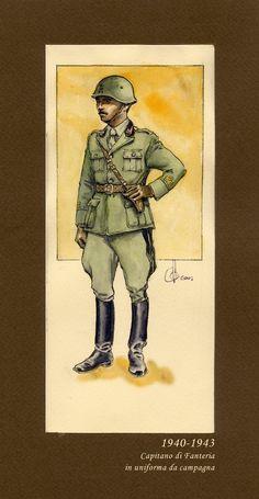 Capitano di Fanteria 1940-1943