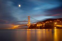 Sunrise photography golden gate bridge