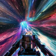 Astronaut flying in a black hole or a worm hole, travel in space and time traveller by visualdon Space Artwork, Wallpaper Space, Galaxy Wallpaper, Fantasy Landscape, Fantasy Art, Art Cyberpunk, Arte 8 Bits, Artistic Visions, New Retro Wave