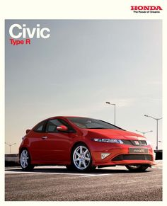 Honda Civic Mk8 Type R UK Brochure 2008