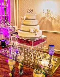 stand Topper mariage Petit gâteau acrylique séparateur Gâteau Stand