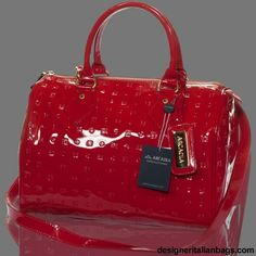Love My Red Patent Leather Arcadia Purse