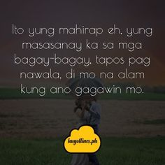Tagalog Love Quotes - May Nagugustuhan ka ba ngayon? Love Quotes For Her, Quotes For Him, Filipino, Love Qutoes, Tagalog Love Quotes, Hugot, English Translation, Text Messages, Funny