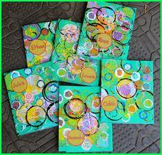 empreintes de ronds Painting Activities, Art Activities For Kids, Painting For Kids, Art For Kids, Process Art Preschool, Summer Camp Art, Dot Day, 3rd Grade Art, Ecole Art