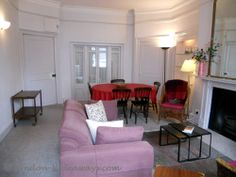 Gorgeous one bedroom apartment will delight and incite. Furnished Apartments, One Bedroom Apartment, Beautiful Drawings, Drawing Room, Bloomsbury, London, Drawing Rooms, London England