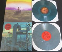 Online veilinghuis Catawiki: Pink Floyd - Great lot of 2LP's, both on limited coloured vinyl * The Endless Outtakes / Live in NYC 1977 *