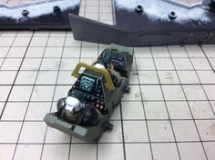 Well, here's a great big photo dump showing the start to finish WIP on the Valkyrie/Vendetta I built for my Tallarn. The cockpit was fully painted before being put into the fuselage and then …