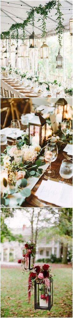 20 Rustic Lantern Wedding Decoration Ideas to Light up Your Day #wedding #weddingdecoration #weddingdecorationsideas