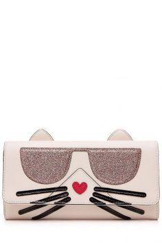 Karl Lagerfeld Karl Lagerfeld Portemonnaie K Kocktail Choupette – Rosa