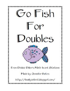 Great freebie game to practice doubles math facts...this site has a lot of other freebies, too!