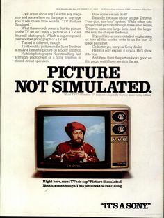 The Best Resource on the Net of Vintage Ads! Sony Tapecorder Features are all deluxe. Old Magazines, Vintage Magazines, We Can Do It, Told You So, Sony Electronics, Color Television, Latin Words, Tv Ads, Vintage Tv