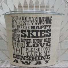 My Sunshine Bucket | greenmomguide.com