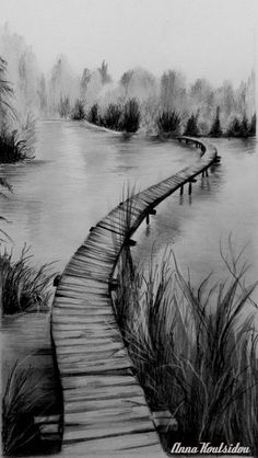 Pencil Drawing | No Road Is Dark , No Path Is Long When You Have Someone Special To Hold Your Hand And Walk Together Has been featured here keepers-of-dreams.deviantart.c… in the group Also ...