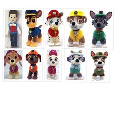 Crochet Toys Patterns, Amigurumi Patterns, Stuffed Toys Patterns, Personajes Paw Patrol, Diy Crochet Accessories, Paw Patrol Pups, Dog Quotes Love, Cute Crochet, Dog Crochet