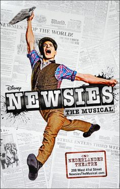 Newsies was fantastic!