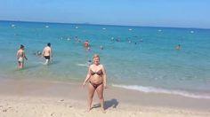 Sveta on the military beach in Pattaya Света на военном пляже Паттайя