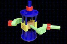 Oscillating Motion II Mechanism | 3D CAD Model Library | GrabCAD