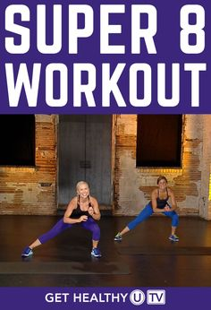 Your Super 8 Workout is a bodyweight circuit workout that uses intervals to get your heart pumping and help you work smarter, not longer. There's no equipment needed for this workout, so you can take it with you on the go and do it anywhere, at any time. Led by Chris Freytag, you'll perform eight exercises in a row for one minute each. After you go through each of these eight power moves, you'll take a one-minute rest and then repeat the whole thing again.