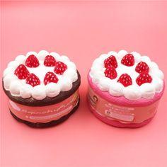 New-12CM-Jumbo-Squishy-Strawberry-Cake-Scented-Super-Slow-Rising-Fun-Kid-Toy