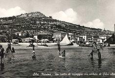 Silvi, my hometown (around 1960)