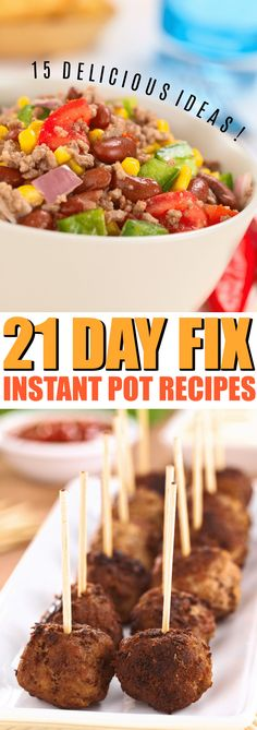 21 Day Fix Instant Pot Recipes to Rock your Menu this week, choose from 21 day fix recipes including chicken, beef and turkey