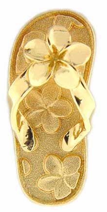 Hawaiian Jewelry Slipper - love the pattern