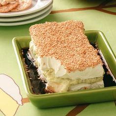 Creamy Wasabi Spread Recipe -Sesame seeds create an attractive coating for this easy cracker spread. Be sure to watch when you're toasting them; they burn easily. You'll find rice crackers in the ethnic food aisle. You can use any flavor, but the wasabi ones are very tasty. —Tammie Balon, Boyce, Virginia