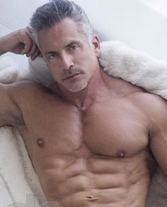 I love the athletic type silver fox