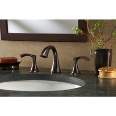 deck-mount sink and faucet