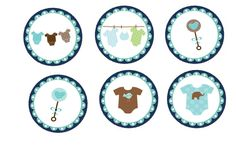 Baby Boy Shower Clipart - Free Clip Art Images