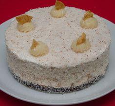 Receitas - Torta Mousse de Abacaxi com Coco | Xamego Bom