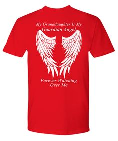 Granddaughter Guardian Angel - Unisex T-Shirt
