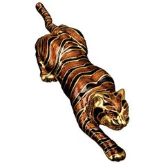 Ciner Tiger Brooch - Pins - Jewelry - The Met Store