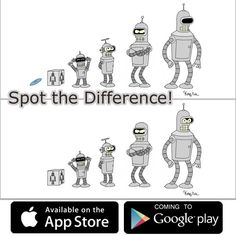 Shut up and spot this shiny differences! :) Game is available on the App store! Google play release is coming soon. cjf.in.ua/land