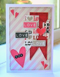 """Kath's Blog......diary of the everyday life of a crafter: """"I'm on a mission""""... using Tim Holtz, Ranger, Sizzix and Stamper's Anonymous products; Feb 2015"""